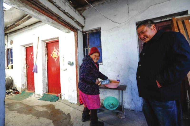 熱心房東連續5年照顧87歲租戶 就像一家人 作者: 來源:姑蘇晚報