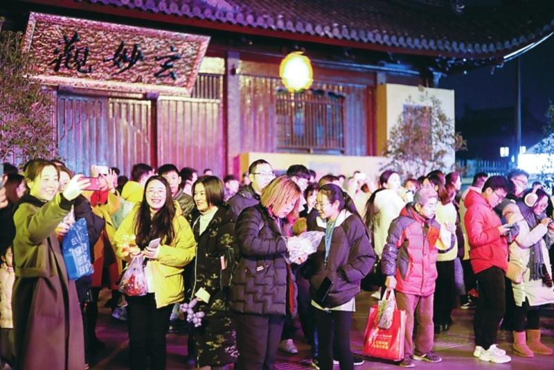 """平江路、觀前街讓游客沉醉 古城老街聯動推出""""跨年""""市集"""